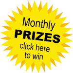 Sign up for our free enews to be part of the MONTHLY PRIZE DRAWS